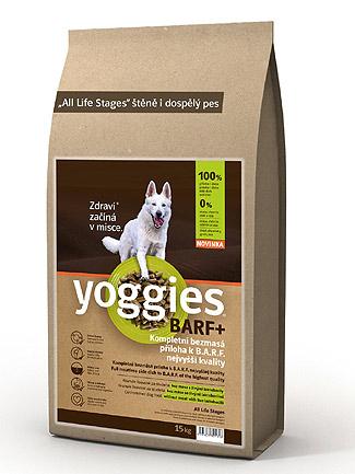 Granule lisované za studena s probiotiky Yoggies BARF+ příloha